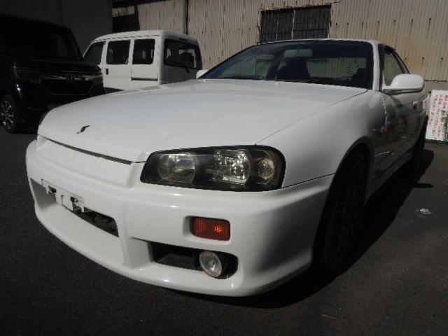 日産 GT GTR仕様に ドリフト MT 5速 頭文字D HR34