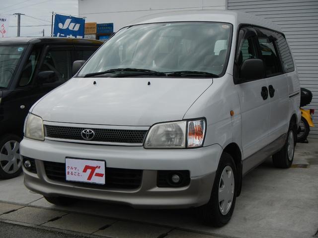 トヨタ G キーレス ETC 3列シート スライドドア コラムAT