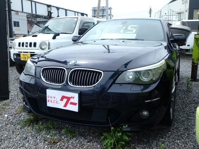 BMW 525i Mスポーツパッケージ 純正ナビ ハーフレザーシート