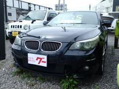 BMW525i Mスポーツパッケージ 純正ナビ ハーフレザーシート