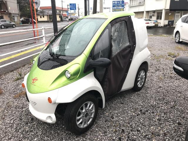 トヨタ コムス B・COMデリバリー ツートンカラー 電気自動車 家庭用100V充電OK 社外アルミ