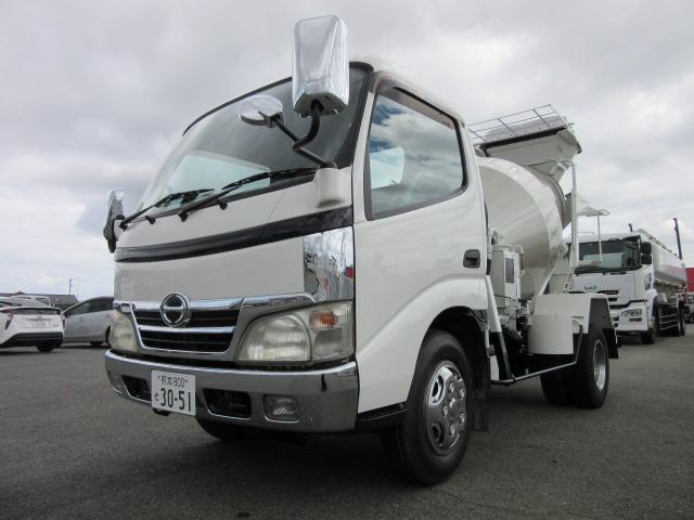 日野 日野デュトロ カヤバミキサー車 2.5立米