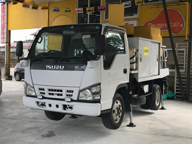 いすゞ 高所作業車 作業床積載荷重200kg走行距離123396km