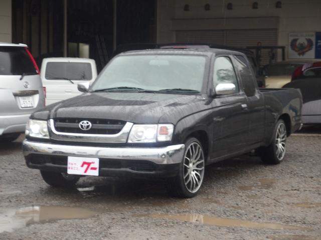 トヨタ エクストラキャブ 公認エアサス 18インチAW サンルーフ