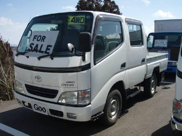 トヨタ Wキャブ 1t 4WD