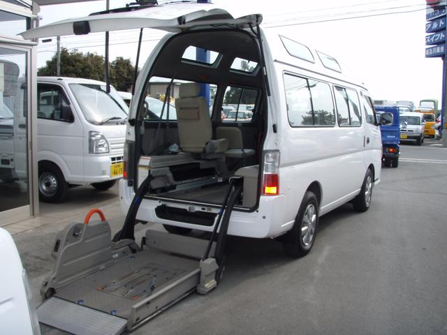 日産 チェアキャブ 4WD 車イス移動車 福祉車輌