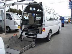 キャラバンチェアキャブ 4WD 車イス移動車 福祉車輌