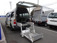 ハイエースコミューター福祉車輌 4WD 車イス2基固定装置