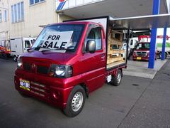 クリッパートラック4WD パネルバン 3方開 跳ね上げ式 移動販売車