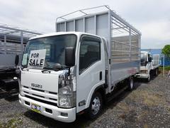 エルフトラック3tベース 家畜運搬車