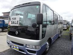 シビリアンバス福祉車両 車イス用リフト付 自動扉ステップ 23人乗