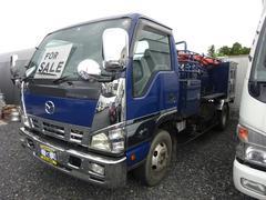 タイタントラック清掃車 2ペダル モリタ水タンク1600L 水圧ホース2基