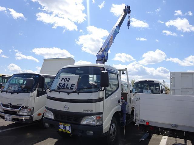 日野 ロング 2t タダノ4段クレーン ラジコン フックイン