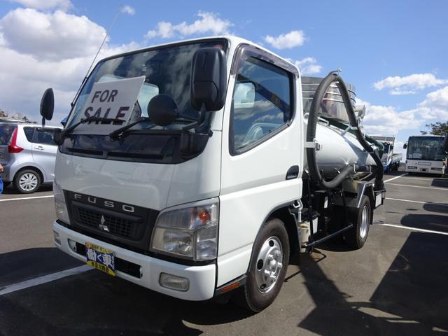 三菱ふそう 3t バキュームカー モリタエコノスVBR4304 衛生車
