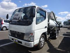 キャンター3t バキュームカー モリタエコノスVBR4304 衛生車