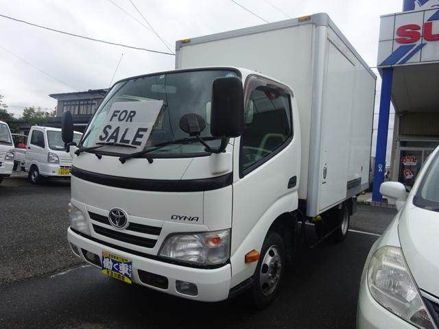 トヨタ ダイナトラック 1.35t 保冷車 床ステンレス ラッシングレール1段