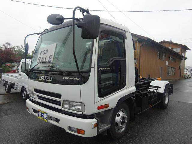 いすゞ 3.95t アームロール 新明和CCA44-11 6速MT