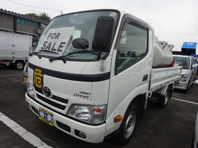 トヨタ ダイナトラック 1.05t 灯油タンクローリー タツノ2014年2月