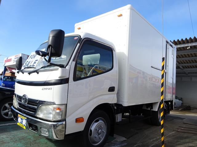 トヨタ 2.55t アルミV 垂直ゲート オートマ デッキ はしご付