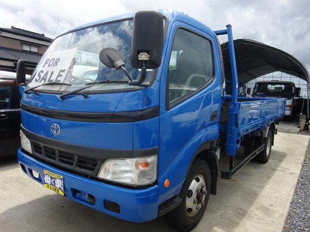 トヨタ ダイナトラック 4t 平ボディー 6速マニュアル ETC エアバック