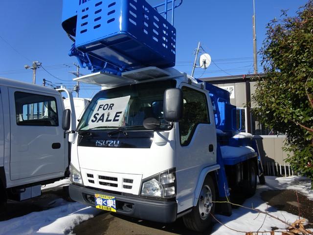 いすゞ  高所作業車 作業床高さ11.9m アイチSS12A 車高3.1m
