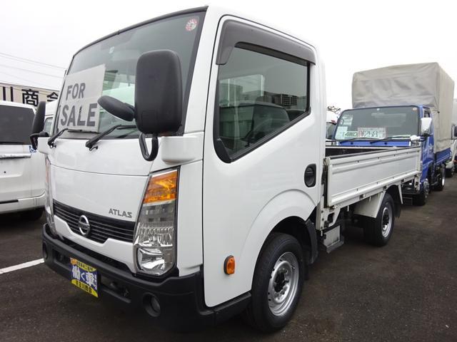 日産 アトラストラック  4WD 1.4t 平ボディー 5速マニュアル ETC