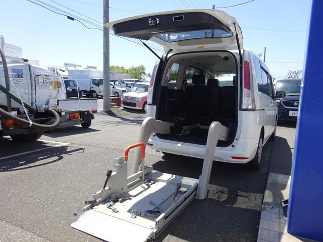 日産  福祉車両 チェアキャブ 電動リフト付き 6人乗り キーレス