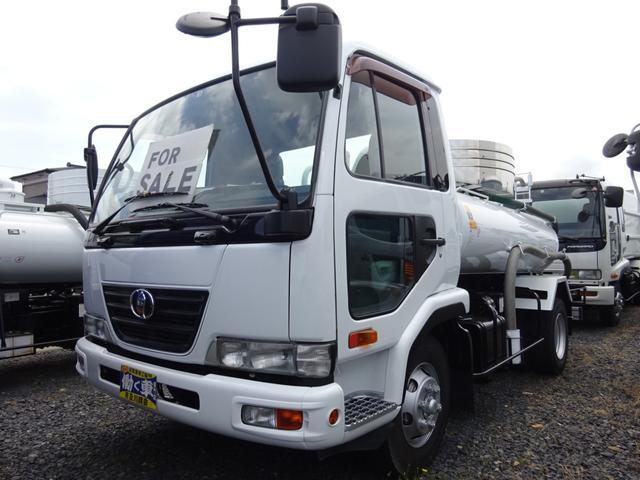 日産ディーゼル  UDトラック 3.5t バキュームカー モリタ VBR635H 6速マニュアル 新品DS型脱臭器 衛生車 ターボ