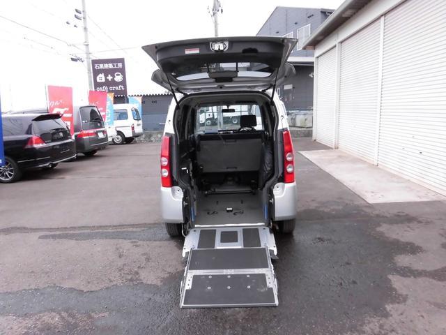 マツダ スローパー 車椅子固定装置付 4人乗り キーレス CD付
