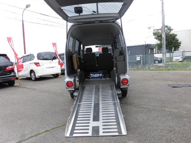 切替4WD ハーティーラン スローパー 車いす移動車 両側スライドドア CD キーレス 社外アルミ ルームクリーニング済