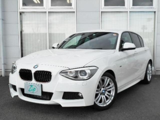 BMW 116i Mスポーツ ワンオーナー 純正ナビ