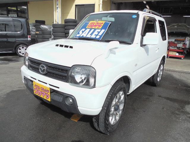 マツダ XC4WDターボ社外アルミマフラー