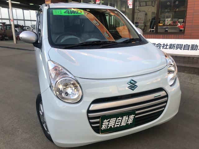スズキ ECO-S 4WD アイドリングストップ プッシュスタート インテリキー ウインカーミラー 車検令和4年7月 13インチアルミホイル シートヒーター 保証付販売