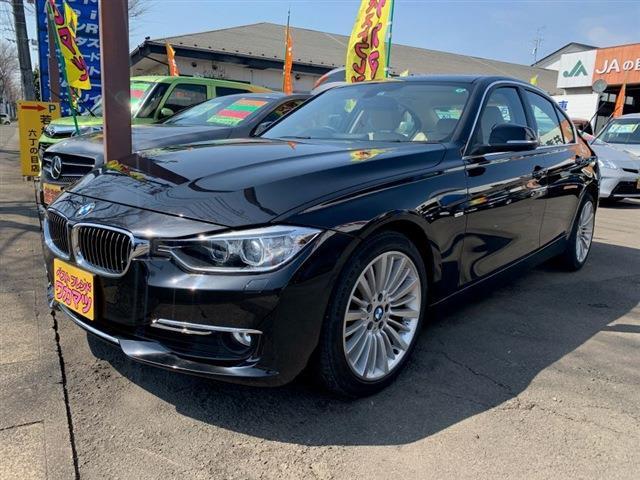 BMW 3シリーズ 328iラグジュアリー 本革シート前席パワーシート&ヒーターシートアイドリングストップクルーズコントロールターボエンジン8速オートマ