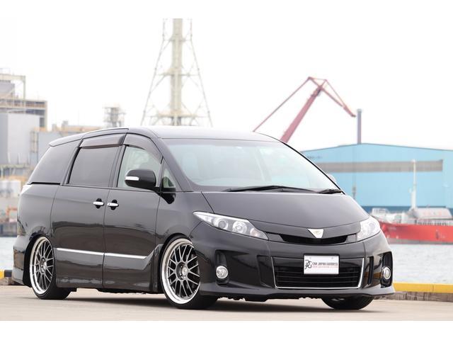 トヨタ アエラス プレミアムエディション 車高調 SSR20AW