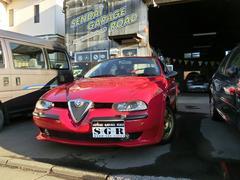 アルファ156限定車ロッソ コルセセレスピード社外ヘッド テールライト