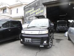 ワゴンRスティングレーT ターボ4WDスマートキーシートヒーターナビTV HID