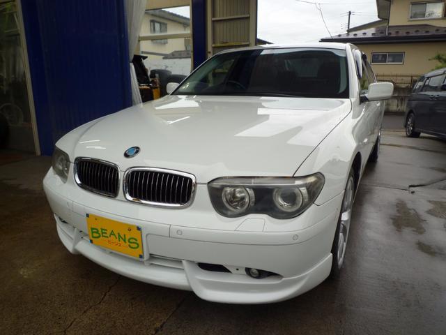 BMW 745i キーレス ETC 純正19AW HID サンルーフ