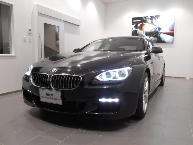 BMW 640iグランクーペ Mスポーツ サンルーフホワイトレザー
