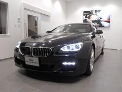 BMW640iグランクーペ Mスポーツ サンルーフホワイトレザー