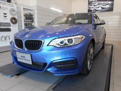 BMWM235iクーペ スタッドレスタイヤ付き