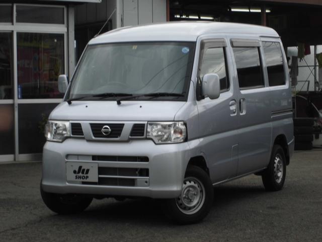 日産 NV100クリッパーバン  4WD 5Fマニュアル