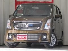 ワゴンRスティングレーハイブリッドX デュアルセンサーブレーキ 登録済み未使用車