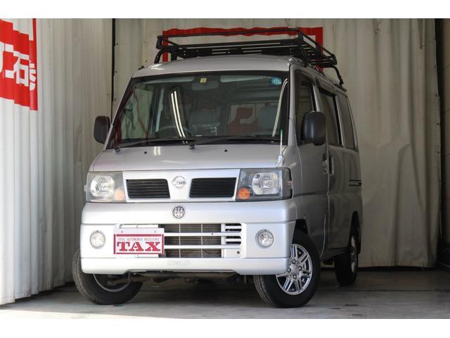 日産 GL 4WD 社外ナビ