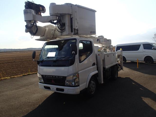 三菱ふそう 高所作業車 アイチ 14.1m