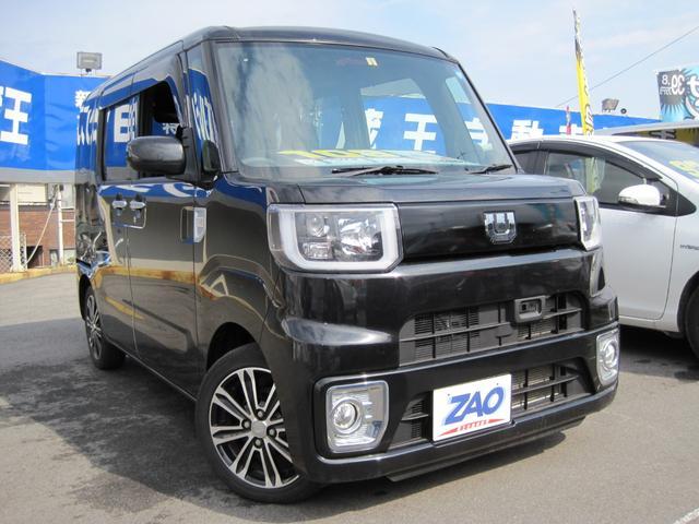 ダイハツ 4WD ターボ X SA ワンオーナー Rカメラ LED