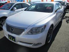 LS LS460 バージョンU 本革シート HDDナビ ETC