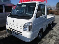 キャリイトラックKC 4WD 届出済未使用車 エアコン パワステ ラジオ