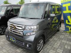 N BOXカスタムG・Lパッケージ 4WD ワンセグTV・メモリーナビ