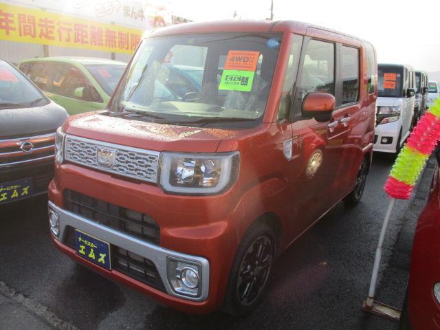 ダイハツ G 4WD 純正15インチアルミ ETC シートヒーター